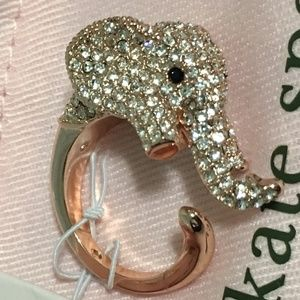 Kate Spade Things We Love Pave Elephant Ring 7